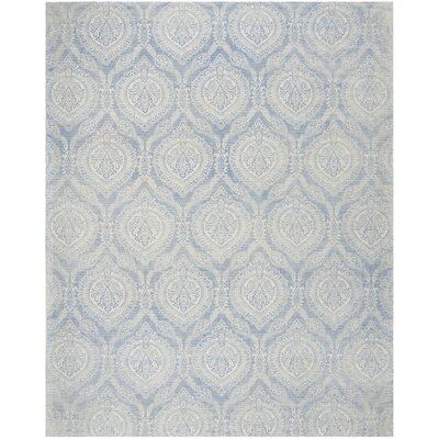 Mellie Hand Tufted Blue Area Rug Rug Size: Rectangle 6 x 9