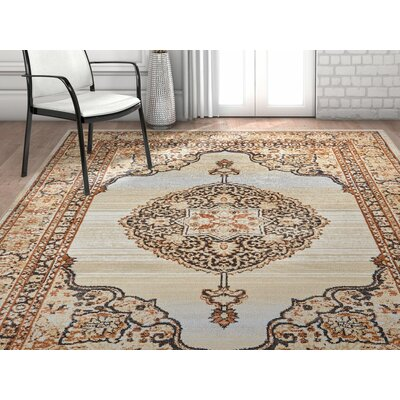 Coalgate Contemporary Red Area Rug Rug Size: 53 x 73