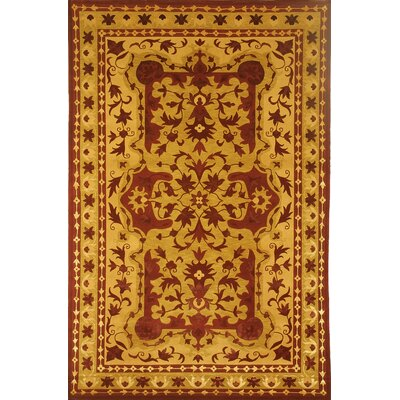 Valerie Himalayan Sheep Hand-Knotted Wool Gold Area Rug