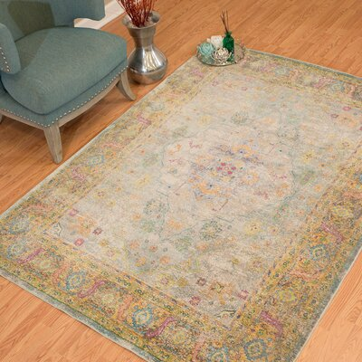 Ravenstein Natural Area Rug Rug Size: Rectangle 53 x 72