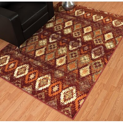 Randolph Red Area Rug Rug Size: Runner 11 x 72