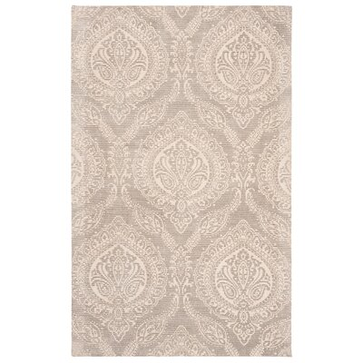 Mellie Hand Tufted Taupe Area Rug Rug Size: Rectangle 3 x 5