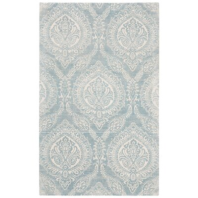 Mellie Hand Tufted Turquoise Area Rug Rug Size: Rectangle 3 x 5