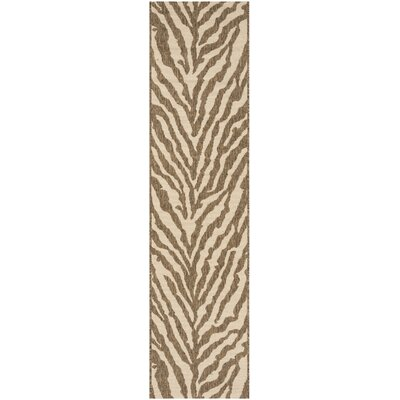 Mckinley Cream/Beige Area Rug Rug Size: Runner 2 x 8
