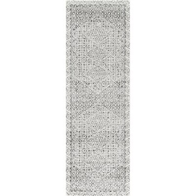 Wideman Light Gray Area Rug Rug Size: Runner 28 x 8