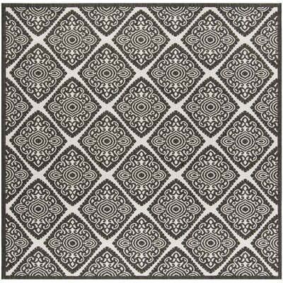 Mckinley Light Gray Area Rug Rug Size: Square 67