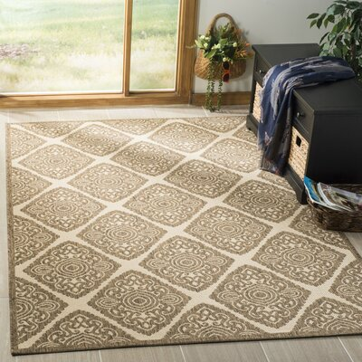 Mckinley Cream/Beige Area Rug Rug Size: Rectangle 4 x 6