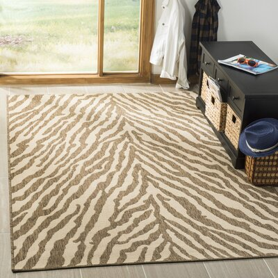 Mckinley Cream/Beige Area Rug Rug Size: Rectangle 51 x 76