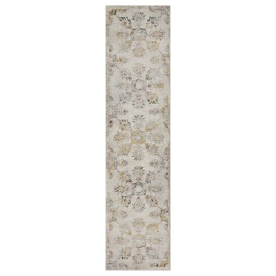 Amory Cream Area Rug Rug Size: Runner 23 x 89