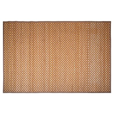 Kato Doormat Color: Light Brown and Ivory