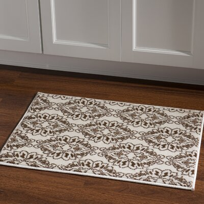 Samantha White Area Rug Rug Size: Rectangle 2 x 3