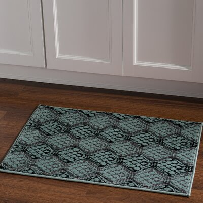 Cramden Black/Gray Area Rug Rug Size: Rectangle 111 x 21