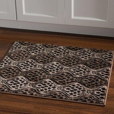 Cramden Brown/Tan Area Rug Rug Size: Rectangle 111 x 21