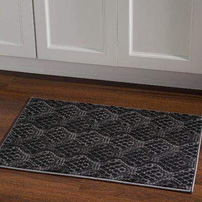 Cramden Grey Area Rug Rug Size: Rectangle 111 x 21