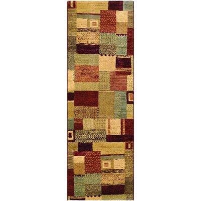 Gene Mustard Rug Rug Size: Runner 27 x 71