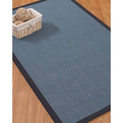Buschwick Handmade Midnight Blue Area Rug Rug Size: Rectangle 2' x 3' B2EDC651E6B94CFAAE07F14F0F53F032