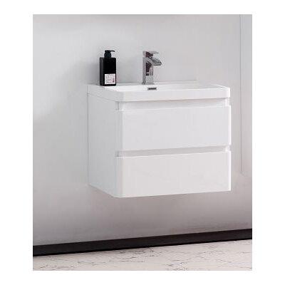 Mccarty Modern 24 Single Bathroom Vanity Set