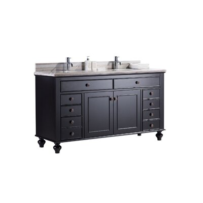 Berryman 62 Double Bathroom Vanity Set