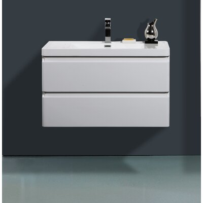 Mccarty 35 Single Bathroom Vanity Set