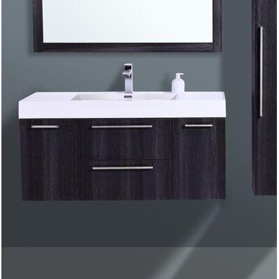 Eclipse Single Bathroom Vanity Set Size: 21.75