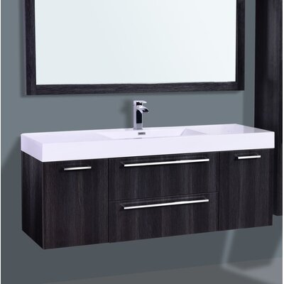 Eclipse Single Bathroom Vanity Set Size: 21.75 H x 59.2 W x19 D