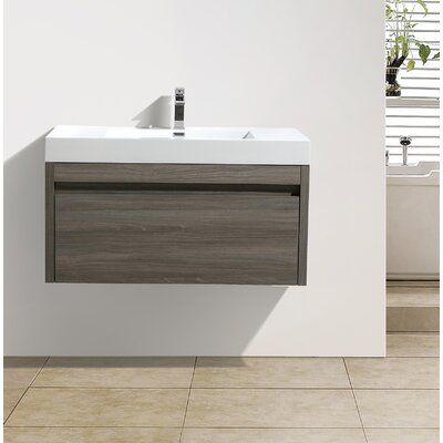 Rosas 47 Single Bathroom Vanity Set Base Finish: Maple Gray