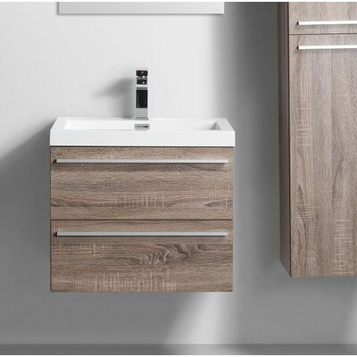 31 Single Bathroom Vanity Set Base Finish: Soft Oak
