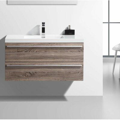 42 Single Bathroom Vanity Set Base Finish: Soft Oak