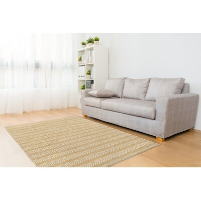 Cream Area Rug Rug Size: Rectangle 2 x 3