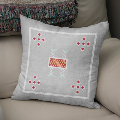 Alcrossagh Throw Pillow Size: 18 H x 18 W
