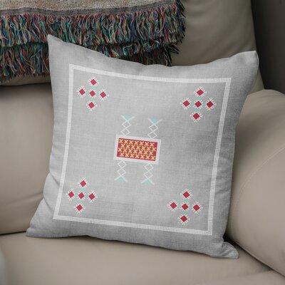 Alcrossagh Throw Pillow Size: 24 H x 24 W