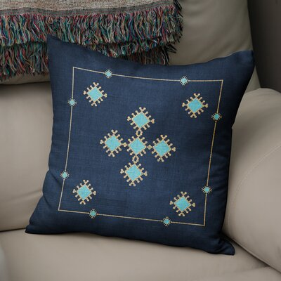 Aldridge Throw Pillow Size: 18 H x 18 W