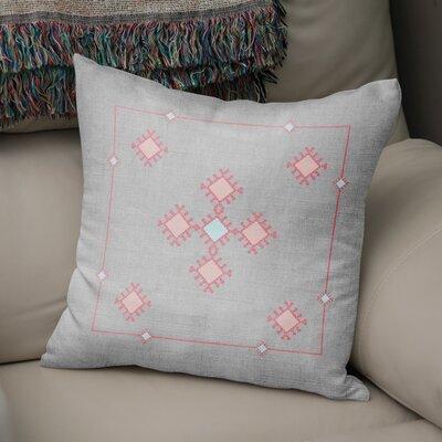 Aledo Throw Pillow Size: 24 H x 24 W
