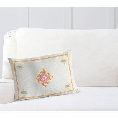 Woven Burlap Lumbar Pillow Size: 18 H x 24 W