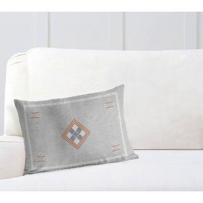 Burlap Lumbar Pillow Size: 12 H x 16 W