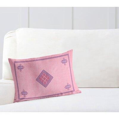 Geometric Rectangular Woven Lumbar Pillow Size: 12 H x 16 W