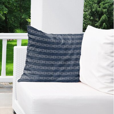 Albreda Indoor/Outdoor Euro Pillow Color: Blue