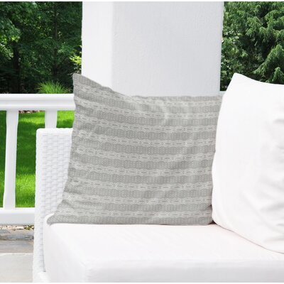 Albreda Indoor/Outdoor Euro Pillow Color: Grey