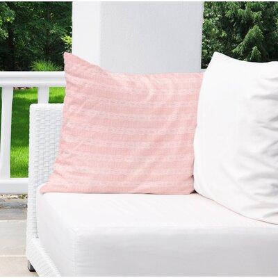 Albreda Indoor/Outdoor Euro Pillow Color: Pink