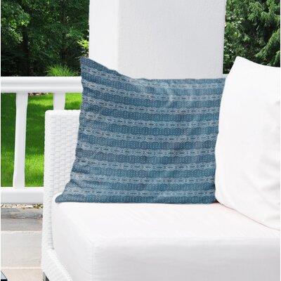 Albreda Indoor/Outdoor Euro Pillow Color: Navy