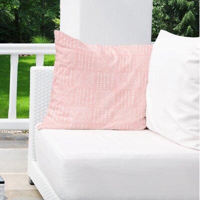 Albina Indoor/Outdoor Euro Pillow Color: Pink
