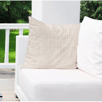 Albina Indoor/Outdoor Euro Pillow Color: Cream