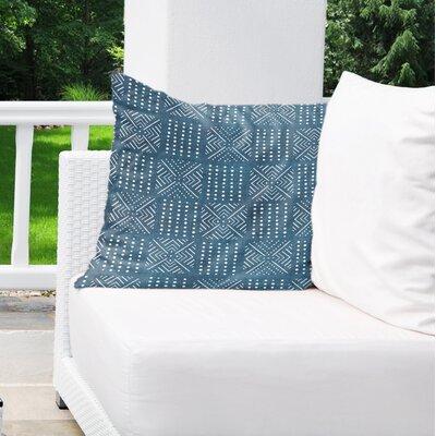 Albina Indoor/Outdoor Euro Pillow Color: Blue