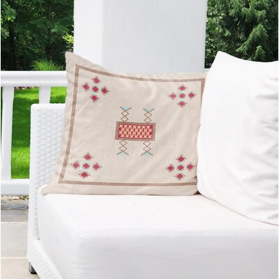 Albrightsville Indoor/Outdoor Throw Pillow Size: 18 H x 18 W