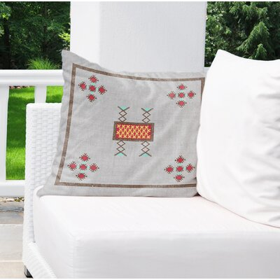 Alchemist Indoor/Outdoor Throw Pillow Size: 18 H x 18 W