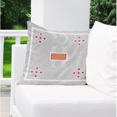 Alcrossagh Indoor/Outdoor Throw Pillow Size: 18 H x 18 W