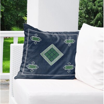 Alderley Indoor/Outdoor Throw Pillow Size: 18 H x 18 W