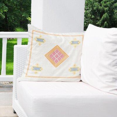 Alderman Indoor/Outdoor Throw Pillow Size: 18 H x 18 W