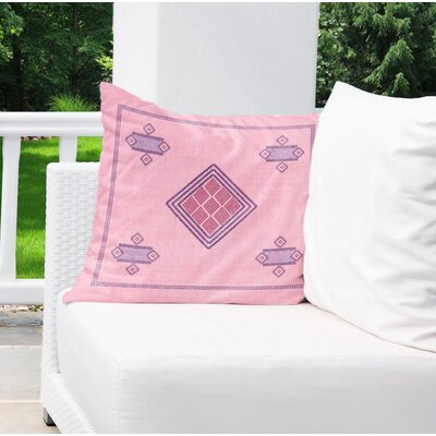 Aldford Indoor/Outdoor Throw Pillow Size: 18 H x 18 W