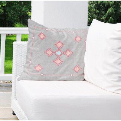 Aledo Indoor/Outdoor Throw Pillow Size: 18 H x 18 W